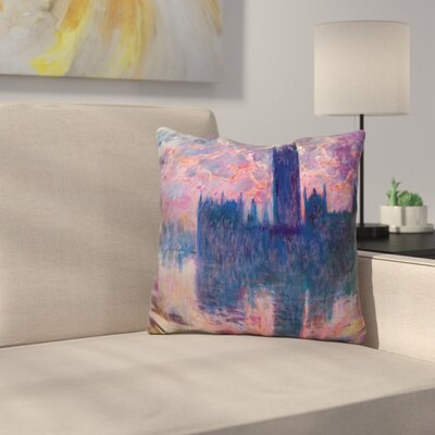 Le Parlement Throw Pillow