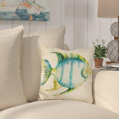 Callison Aquarium Fish Throw Pillow