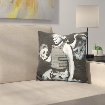 Fallen Angel Throw Pillow
