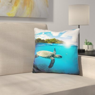 Manuel Tropical Paradise Throw Pillow