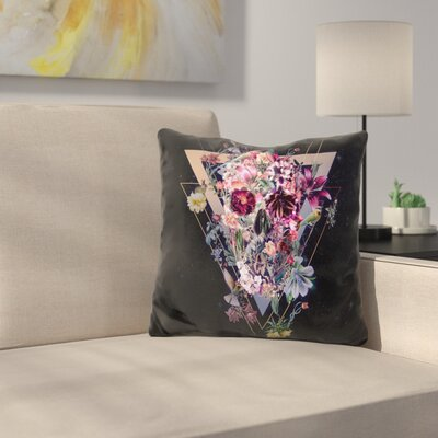 New Skull S V Throw Pillow