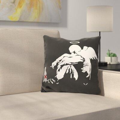 Drunken Angel Throw Pillow