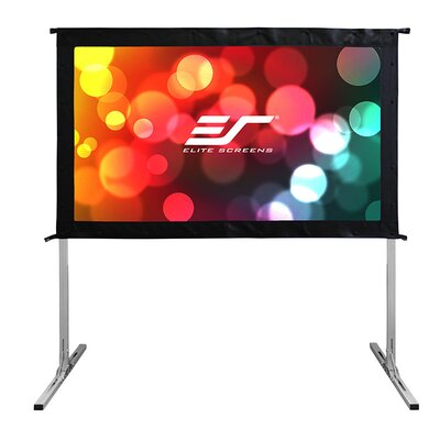 4K Ultra HD Portable Projection Screen Viewing Area: 58