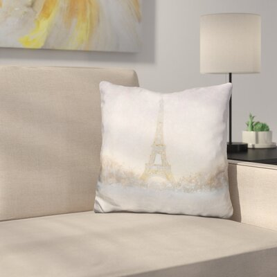 Zarate Eiffel Throw Pillow