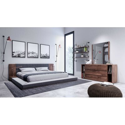 Sackler Platform 3 Piece Bedroom Set Bed size: Queen