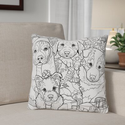 Berkey Christmas Cuties Throw Pillow