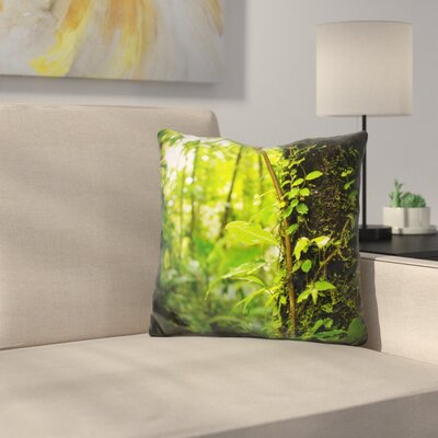 Manz Trunk of the Jungle Throw Pillow