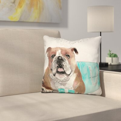 For Me Bulldog For Me Throw Pillow
