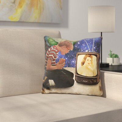 Xposed Throw Pillow