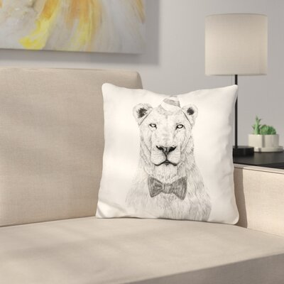 Get the Party Started Color Throw Pillow Color: White