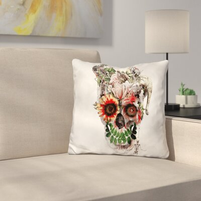 Broken Horn Throw Pillow