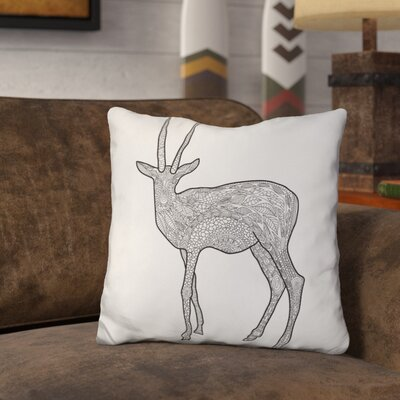 Leung Antelope Throw Pillow