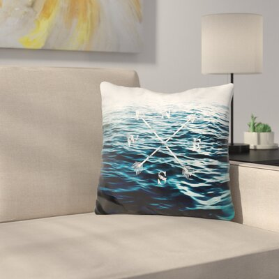 Marro Winds of The Sea Throw Pillow