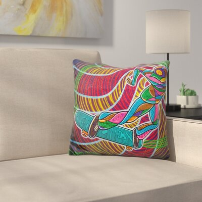 Feeble Grinding the Vortex of Assension Throw Pillow