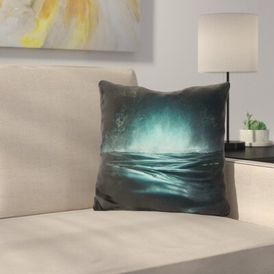 Manns Surreal Sea Throw Pillow