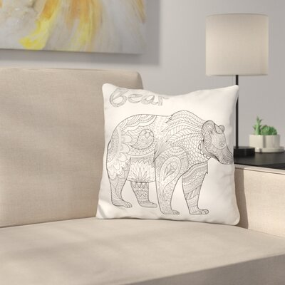 Maspeth Bear Throw Pillow