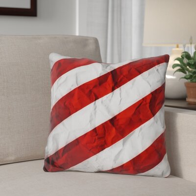 Berndt Crumbled Stripes Throw Pillow