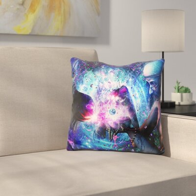 A Spirits Silent Cry Throw Pillow