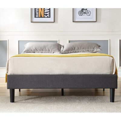 Neblett Upholstered Platform Bed Size: California King