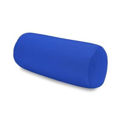 Solid Headrest Outdoor Sunbrella Bolster Color: Blue