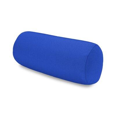 Solid Headrest Outdoor Sunbrella Bolster Color: Blue