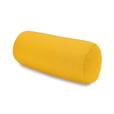 Solid Headrest Outdoor Sunbrella Bolster Color: Yellow