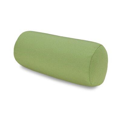 Solid Headrest Outdoor Sunbrella Bolster Color: Green
