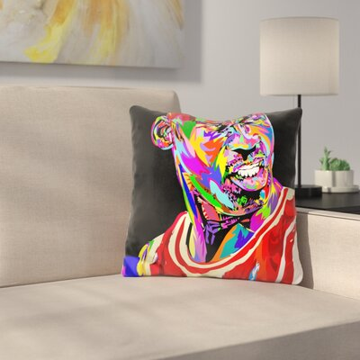 Jordan Portrait Drome Throw Pillow