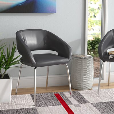 Noyola Contemporary Lounge Chair Seat Color: Gray