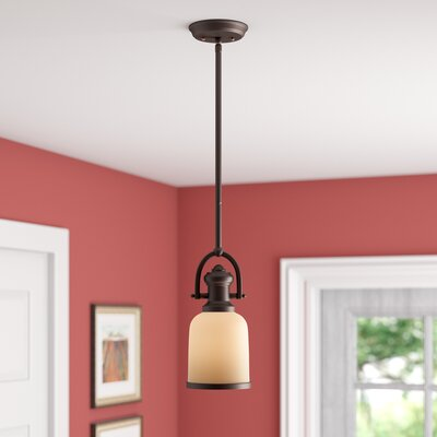 Boornazian 1-Light Mini Pendant Finish: Oiled Bronze