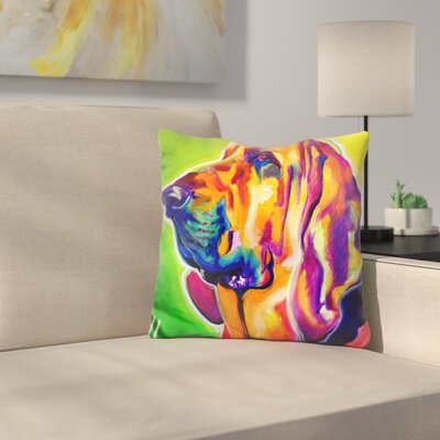 Mattera Bloodhound Throw Pillow