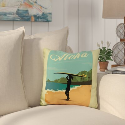 Cambra Aloha Throw Pillow