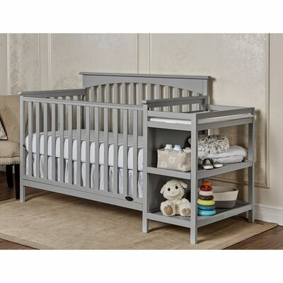 Chloe 4-in-1 Convertible Crib and Changer Combo 665-G
