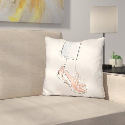 Brogues Throw Pillow