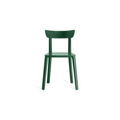Nunley Dining Chair (Set of 2) Color: Dark Green