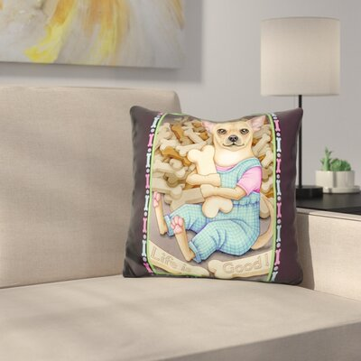 Chihuahua Cookies Throw Pillow
