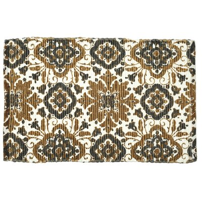 Mullaney Hand-Woven Brown Area Rug