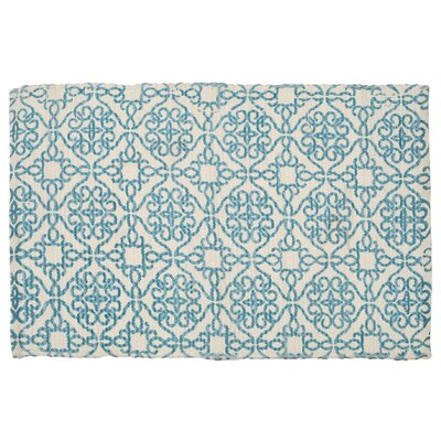 Mullaney Hand-Woven Blue Area Rug
