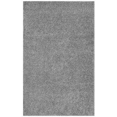 Mickelsen Solid Gray Area Rug Rug Size: Rectangle 5' x 8'