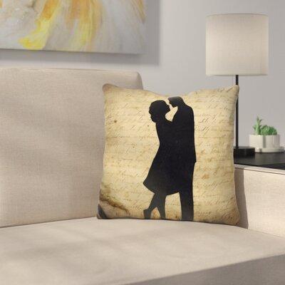 Loving Couple Throw Pillow