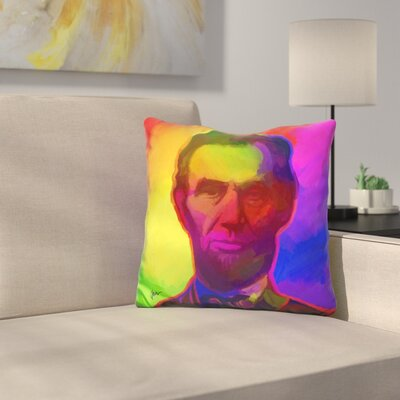Abe Lincoln Throw Pillow