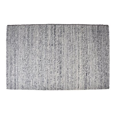 Colton Hand-Woven Wool Blue Area Rug