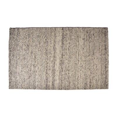 Colton Hand-Woven Wool Ash Gray Area Rug