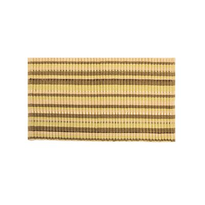 Baldock Silk Ribbed Hand-Woven Flax/Sage Area Rug Rug Size: Rectangle 19 x 210