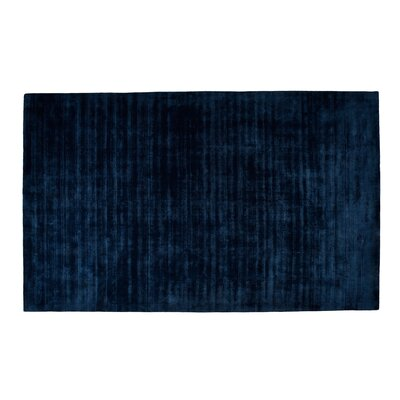 Pressley Hand-Woven Wool Teal Area Rug Rug Size: Rectangle 8x 10