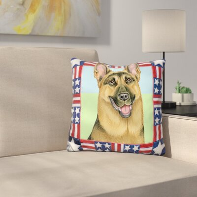 Th July Shepherd Throw Pillow