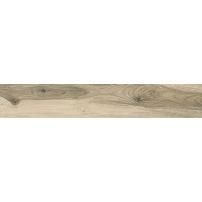 Noce 6.5 x 40 Porcelain Wood Look Tile in Brown