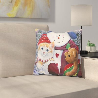 Wonder Pals Throw Pillow