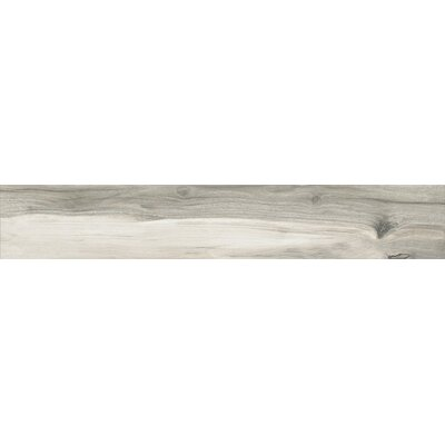 Palissandro 6.5 x 40 Porcelain Wood Look Tile in Gray