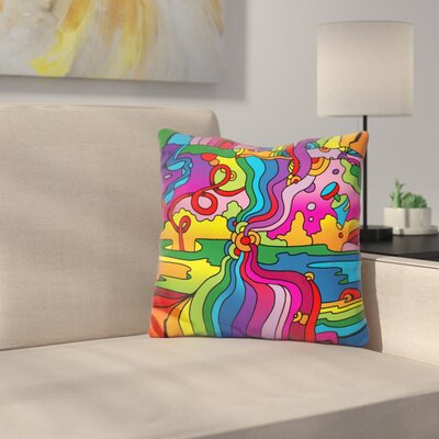 Mambo 216C Throw Pillow